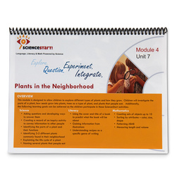 ScienceStart! Curriculum - Module 4: Neighborhood Habitats - Unit 7: Plants in the Neighborhood
