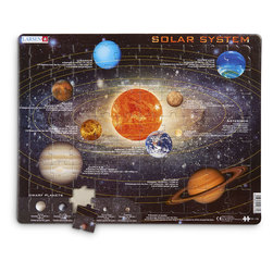 Solar System Educational Jigsaw Puzzle