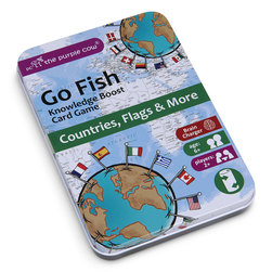 Go Fish Countries, Flags, and More Educational Card Game