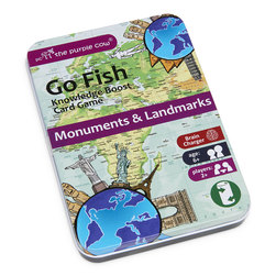 Go Fish Monuments and Landmarks Educational Card Game