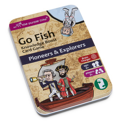 Go Fish Pioneers and Explorers Educational Card Game