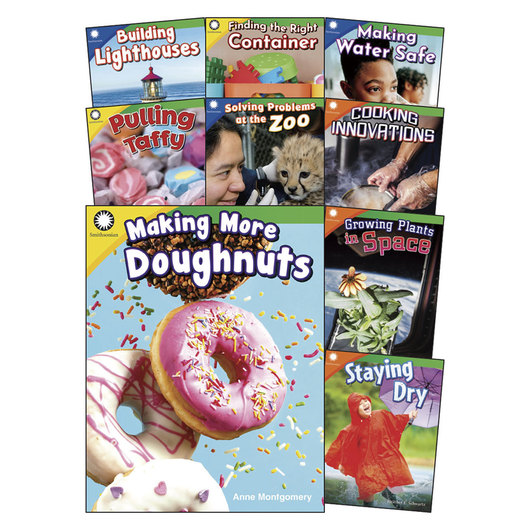 Smithsonian® Informational Text Series for Grades K-2: Creative Solutions Book Set
