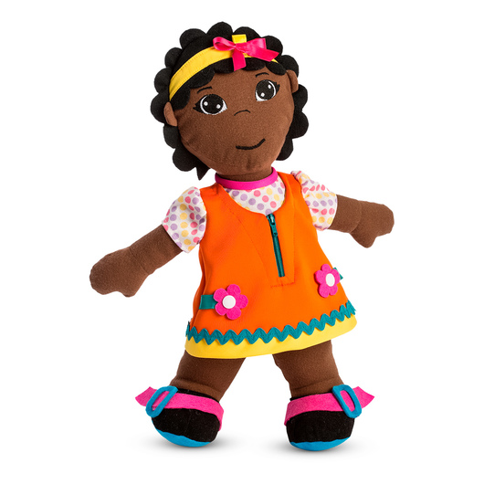 Ethnic Fastening Doll - African Girl