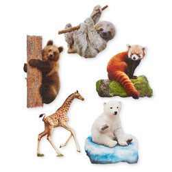 I Am... Land Animals Jigsaw Puzzle Set
