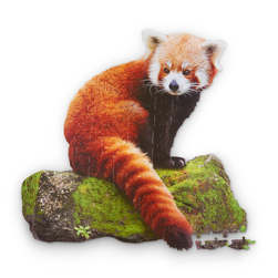 I Am Lil' Red Panda Jigsaw Puzzle