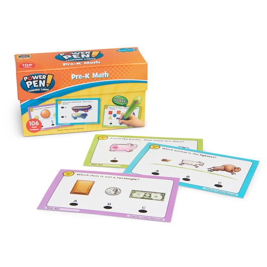 Power Pen® Math Learning Card Set - PreK