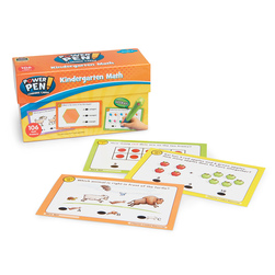 Power Pen® Math Learning Card Set - Kindergarten