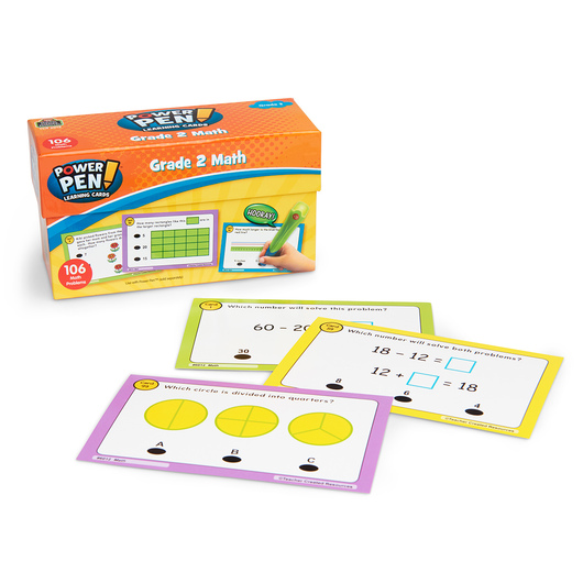 Power Pen® Learning Card Set - 2nd Grade