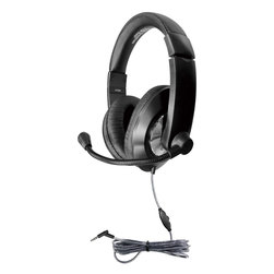 Hamilton™ Smart-Trek™ Deluxe Stereo Headset with Microphone, In-Line Volume Control and 3.5 mm TRS Plug