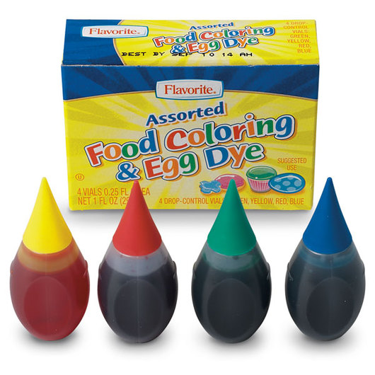 Food Coloring - Box of 4 | D-F | Kit Components | Science ...
