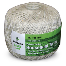 GeneralPurpose Twisted Cotton Twine, 430 ft.