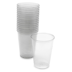Cup, Plastic, Clear, 10 oz., pk/16