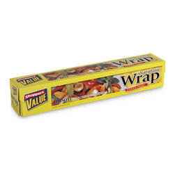 Plastic Wrap, Clear, 12 in. x 100 ft.