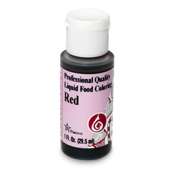 Food Coloring, Red, 30ml