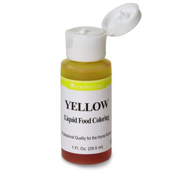 Food Coloring, Yellow, 30 ml