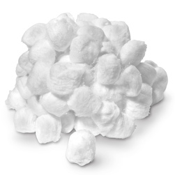 Cotton Ball, Triple, Bag of 100