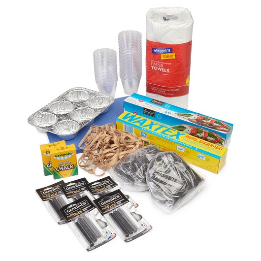 Rainy Weather Materials - Consumables Only
