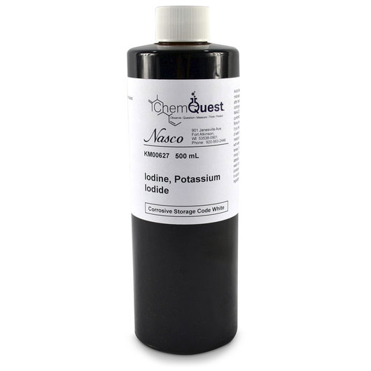 Iodine - 500 ml, Potassium Iodide Solution