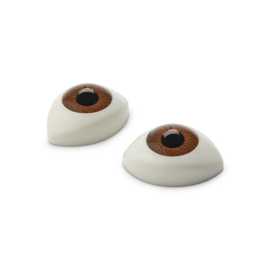 Life/form® Lucy Maternal and Neonatal Birthing Simulator - Eyes - Brown - Set of 2