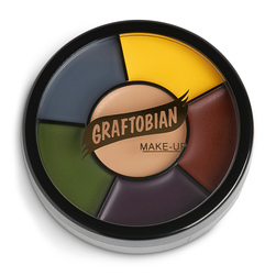 Injury Shades Grease Paint Makeup Wheel