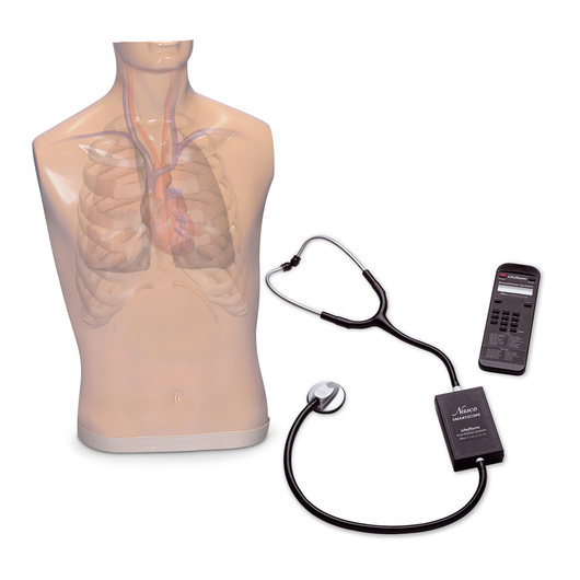 <strong>Life/form®</strong> Auscultation Trainer and Smartscope™ and Amplifier/Speaker System