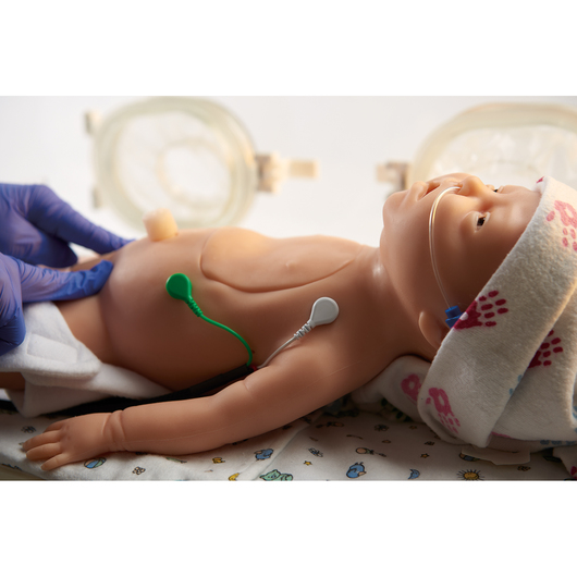 Life/form® C.H.A.R.L.I.E. Neonatal Resuscitation Simulator with Interactive ECG Simulator