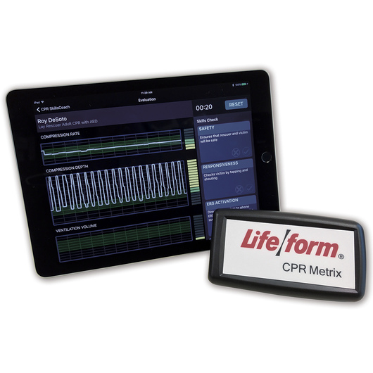 <strong>Life/form®</strong> CPR Metrix Control Box and iPad®*