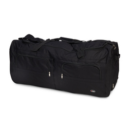 Large Soft Carry Case for Full Body Simulators or Torso - 40 in. x 17 in. x 16 in. - Black