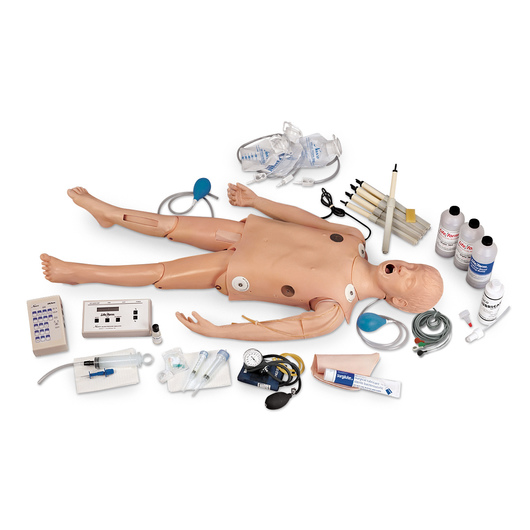 <strong>Life/form®</strong> Deluxe Child <strong>CRiSis™</strong> Manikin with ECG Simulator