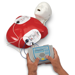 <strong>Life/form®</strong> AED Trainer with <strong>Basic Buddy®</strong> CPR Manikin