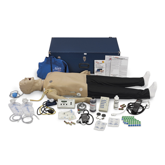 Life/form® Adult CRiSis™ Auscultation Manikin with ECG Simulator