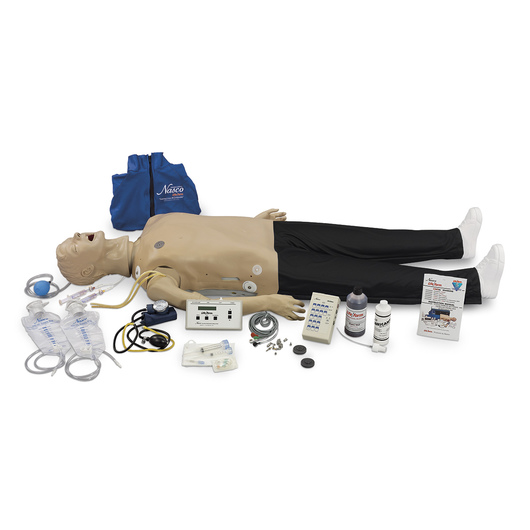 Life/form® Deluxe CRiSis™ Manikin with Interactive ECG Simulator and Advanced Airway Management