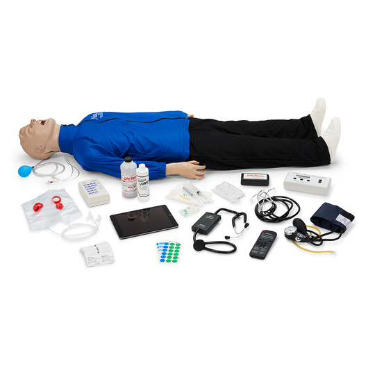 <strong>Life/form®</strong> Deluxe Plus <strong>CRiSis™</strong> Auscultation Manikin with CPR Metrix and iPad®*