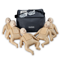 CPR Prompt TPAK 50 Infant Training and Practice Manikins, Tan