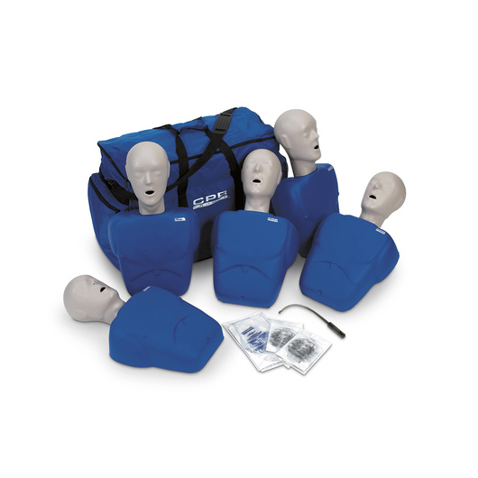 CPR Prompt® Training and Practice Manikin - TPAK 100 Adult/Child 5-Pack
