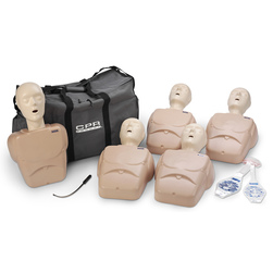 CPR Prompt TPAK 100 Adult/Child Training and Practice Manikins, Tan