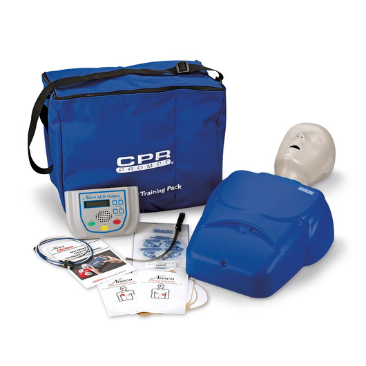 CPR Prompt® Complete AED Training System - Blue