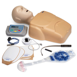 CPR Prompt® Plus Complete AED Training System powered by Heartisense® - Tan