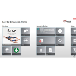Laerdal SimPad PLUS System LLEAP Software