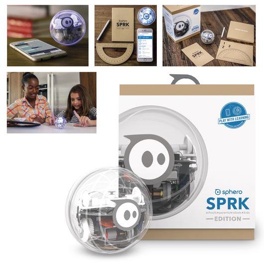 SORRY, THIS ITEM IS NO LONGER AVAILABLE. PLEASE SEE BELOW FOR A SUBSTITUTION.<br />Sphero 2.0 - SPRK Edition - Individual