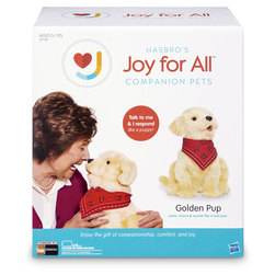 Joy for All Companion Dog Pet - Golden Pup