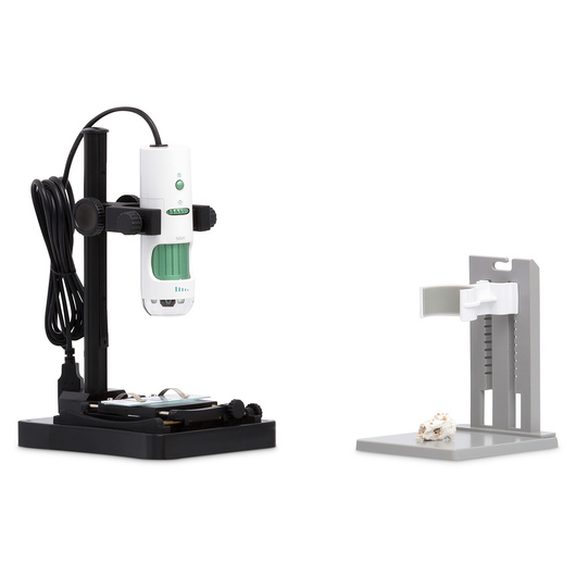 MicroSight Hand-Held Camera Microscopes - MicroSight 500X with Backlit Stand 1.3 MP