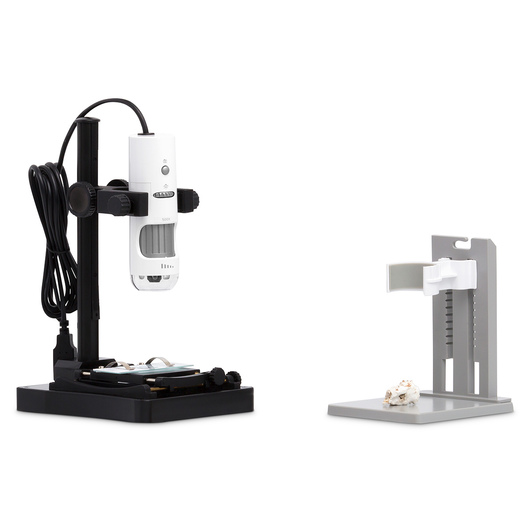 MicroSight Hand-Held Camera Microscopes - MicroSight 500X with Backlit Stand 5 MP