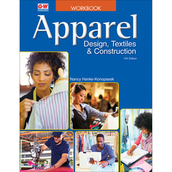 Apparel Design, Textiles & Construction Workbook