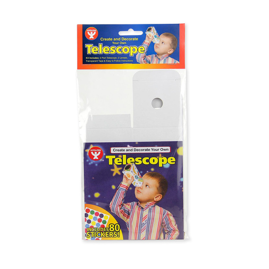 Hygloss Make-Your-Own Telescope Kit, Set of 12