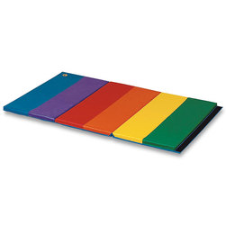 Folding Rainbow Mat, 2 in. Thick