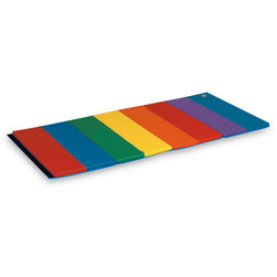 Folding Rainbow Mat, 1-1/2 in. Thick