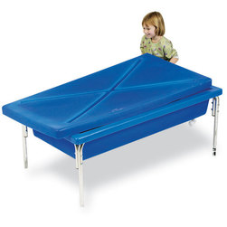 Sand and Water Activity Tables with Top with Stand