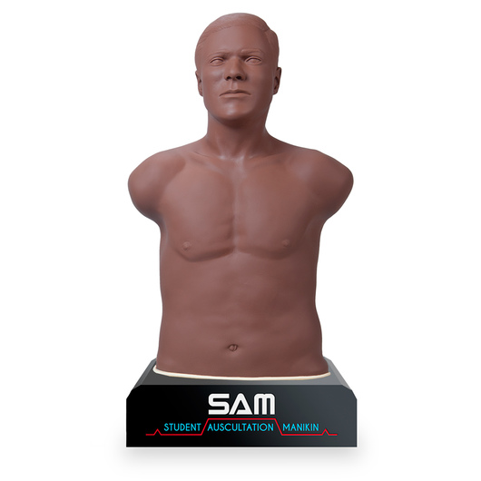 SAM 3G - The Student Auscultation Manikin - Dark