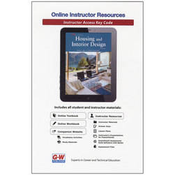 Housing and Interior Design Online Instructor Resources, 6-Year Subscription